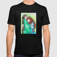 Merida And Elinor Mens Fitted Tee Tri-Black SMALL