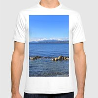 Stanley Park Mens Fitted Tee White SMALL