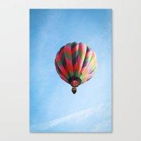 Lighter Than Air - Balloon  Canvas Print