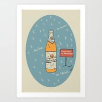 Berliner Kindl Art Print