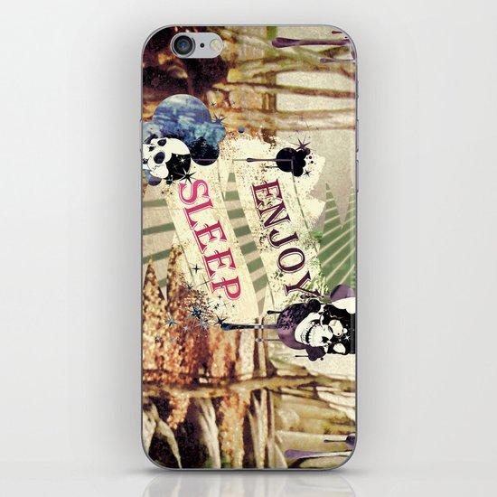 Enjoy Sleep! iPhone & iPod Skin