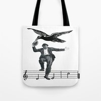 Saved By The Music Agai… Tote Bag