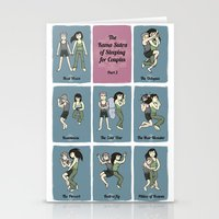 The Kama Sutra of Sleeping for Couples Part 2 Stationery Cards