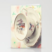 Tea Cup Stationery Cards