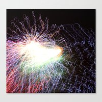 Electric Night Canvas Print