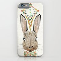 rabbit iPhone & iPod Cases featuring rabbit by Manoou