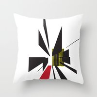 The Path    [POINT] [DIRECTION] [GOAL] [FOCUS] [ABSTRACT] Throw Pillow