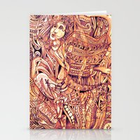 Pythia In A Frenzy Stationery Cards