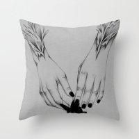 Creator II Throw Pillow