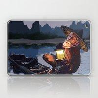 Night Fisher Laptop & iPad Skin