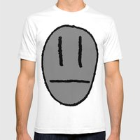 My Head's Not That Big!! Mens Fitted Tee White SMALL