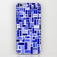 Doors - Blues iPhone & iPod Skin