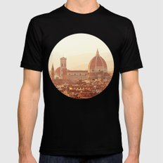 Florence Cathedral Black SMALL Mens Fitted Tee