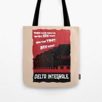 Delta Integrale Tote Bag