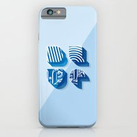 iPhone & iPod Case featuring Blue by Ariel Conde