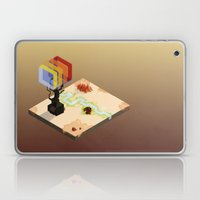 In The Rays Of A Cloudle… Laptop & iPad Skin