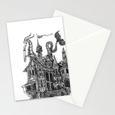 the wandering library Stationery Cards