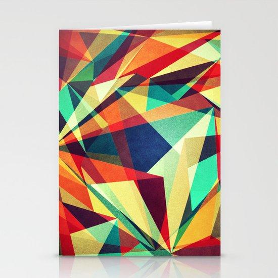 Broken Rainbow Stationery Card