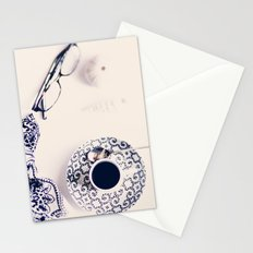 coffee blues Stationery Cards
