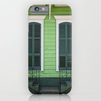 Green Creole Cottage iPhone 6 Slim Case