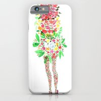 iPhone & iPod Case featuring Flower Girl by Bouffants and Broken Hearts