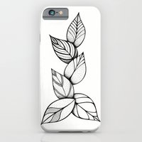 iPhone & iPod Case featuring leaves by silb_ck