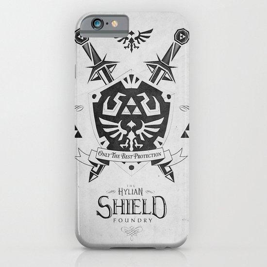 Legend of Zelda Hylian Shield Foundry logo Iconic Geek Line Artly iPhone & iPod Case