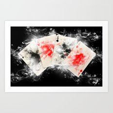 Play Your ACE Art Print