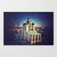 Cathedral At Dawn Canvas Print