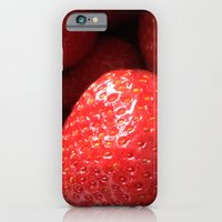 strawberries iPhone 6 Slim Case