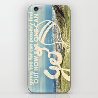 Adventure Quote, Hot Air… iPhone & iPod Skin