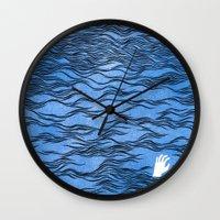 Man & Nature - The Dange… Wall Clock
