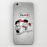 Hadoken? iPhone & iPod Skin