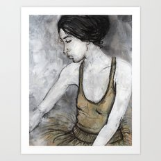 Ballerina for print Art Print
