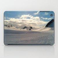 Snowcapped Iceland iPad Case