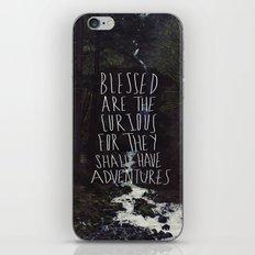 Curious Adventures iPhone & iPod Skin