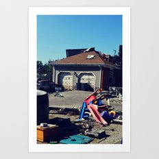 Hollywood Disaster Art Print