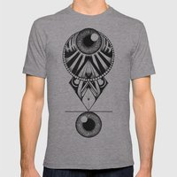 The Balence Eyes Mens Fitted Tee Athletic Grey SMALL