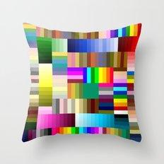Sharpie Crazy Throw Pillow