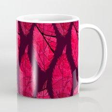 Red velvet leaves Mug