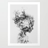 Art Print featuring Dissolve Me by One Man Workshop