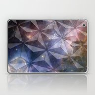 Laptop & iPad Skin featuring Space Geometry by Nick Bizzack Designs