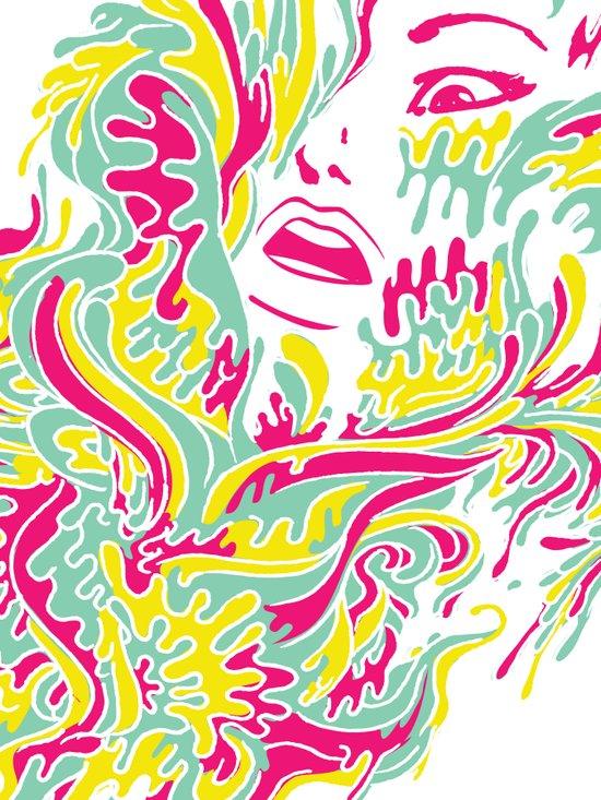 Eyegasmic Art Print