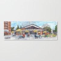 freeborn hall panorama Canvas Print