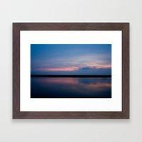 Magenta Bay Framed Art Print
