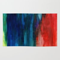 Spring Yeah! - Abstract … Rug