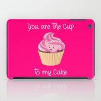 My cupcake - Pink version iPad Case