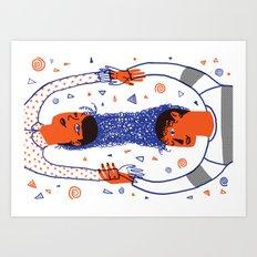 Intertwined 2 Art Print