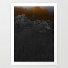 atmosphere 52 · diving Art Print
