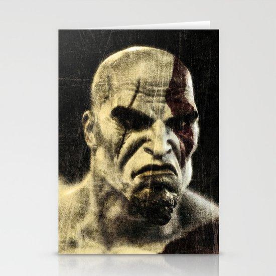 kratos Stationery Card